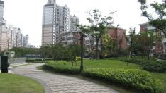 LED landscape lighting project of affordable housing in Shanghai